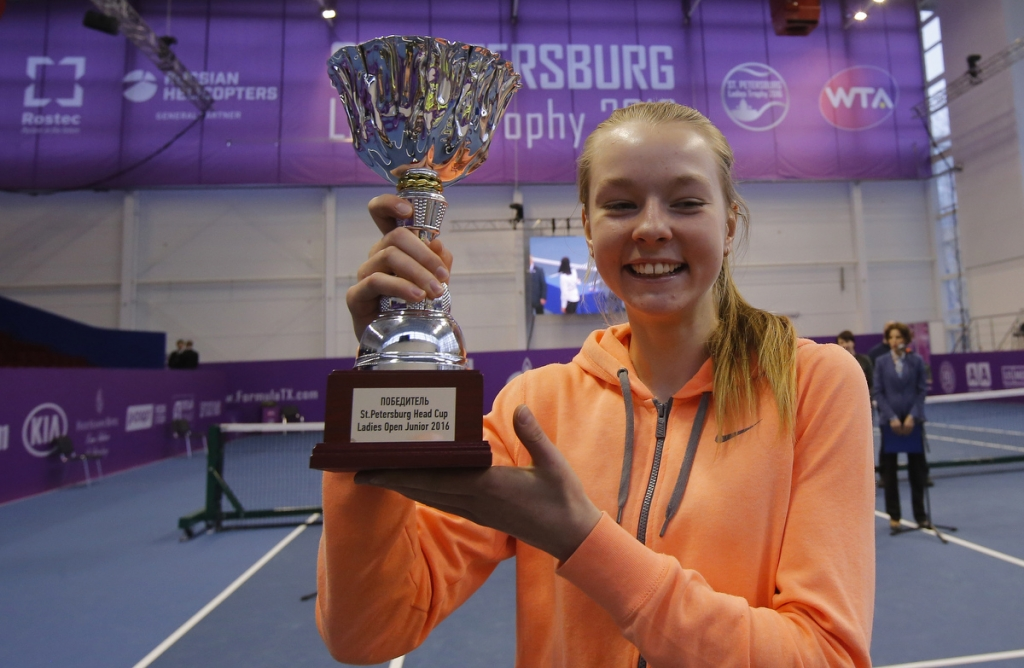 St.Peterburg ladies trophy 2016.