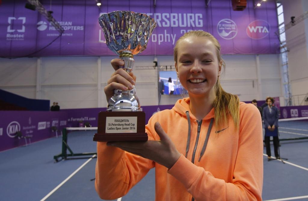 St.Peterburg ladies trophy 2016.
